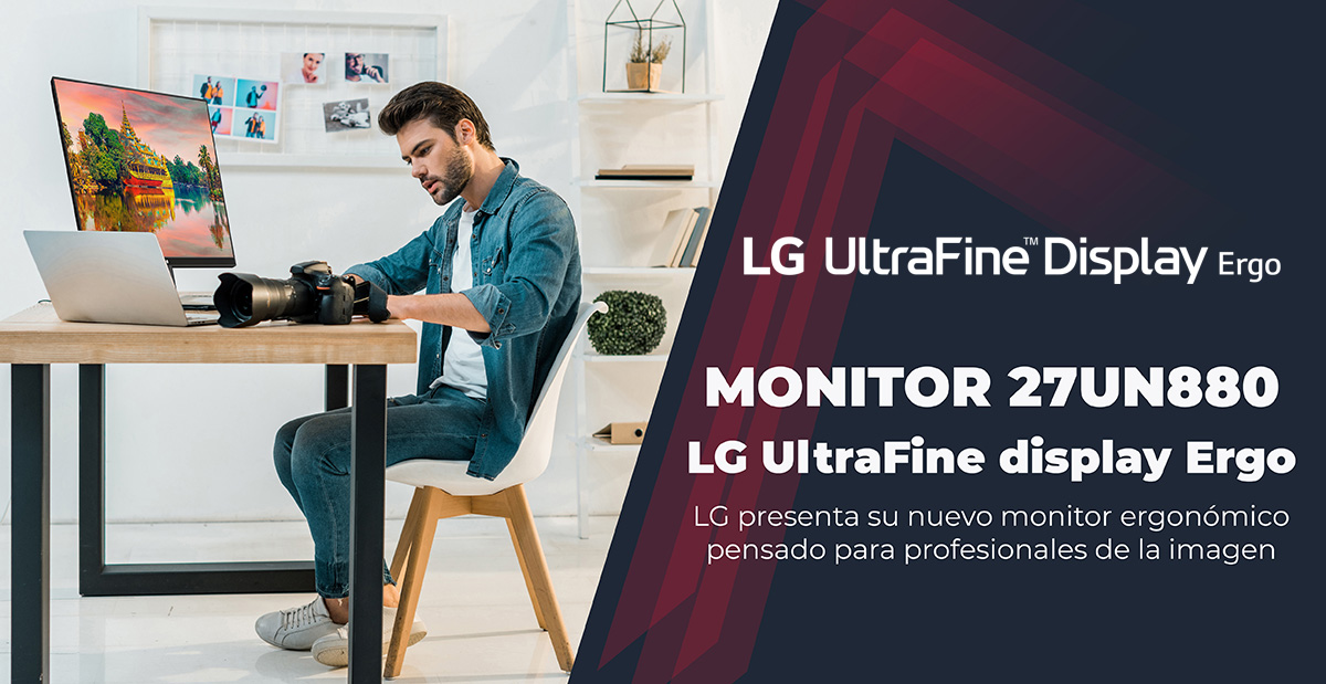 27UN880 LG UltraFine display Ergo